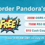 Group logo of Join in RSorder Pandora's Box to Snap up Free RS Gold for Sale & $15 Voucher