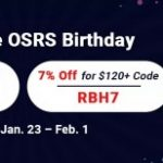 Group logo of Professional Site RSorder to Trade 7% Off RS 2007 Gold for OSRS Birthday 2021