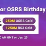 Group logo of Never Miss the Chance to Enjoy Cheap OSRS Gold for FREE on RSorder Jan. 25