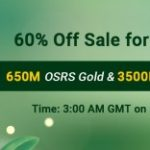 Group logo of RSorder Spring 60% Off Sale: Easily Snap up 60% Off Cheap Runescape 2007 Gold on Mar. 8