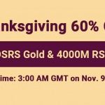 Group logo of Happy to Get Runescape 07 Gold with 60% Discount on RSorder as Thanksgiving Gift