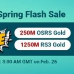 Group logo of Pre-Spring Flash Sale: Free RS Gold for Sale to Get on RSorder Feb. 26